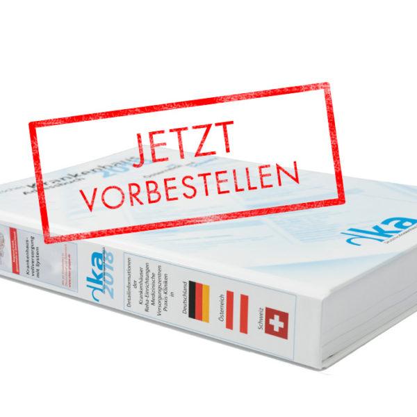 DKA Vorbestellung 2019 Adressbuch Kliniken